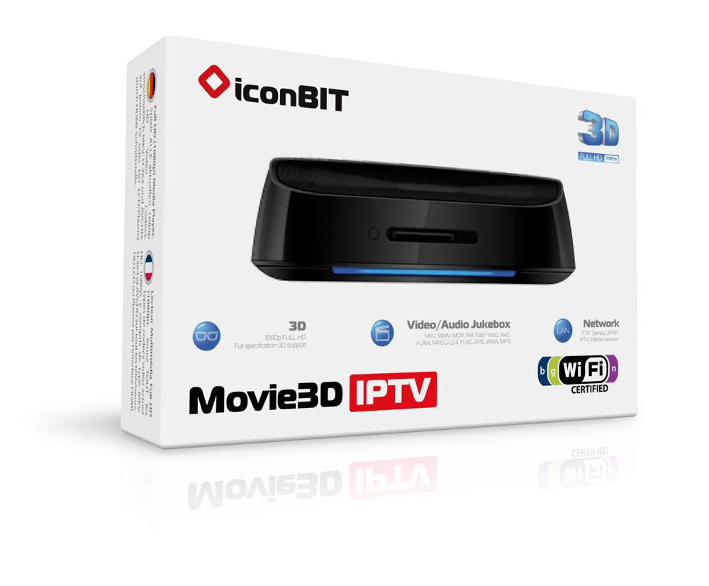 Iconbit movie 3d iptv программ каналов нтв плюс