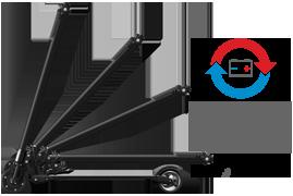 Smart Carbon Scooter — сверхлегкий, компактный карбоновый электросамокат