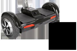 """Smart Scooter S — гироскутер с 8"""" колесами и рукояткой управления"""